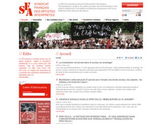 sfa-cgt.fr screenshot