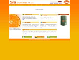 sfa.com.pk screenshot