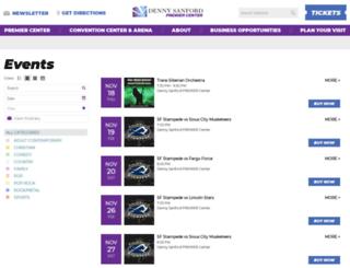 sfarena.com screenshot