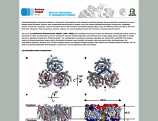 sfb807.de screenshot