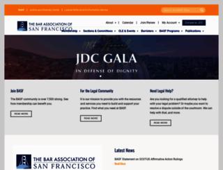sfbar.org screenshot