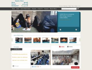 sfd.org screenshot
