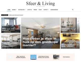 sfeerenliving.nl screenshot