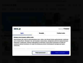 sferis.pl screenshot