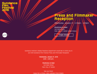 sff16-pressandfilmmakerreception.splashthat.com screenshot