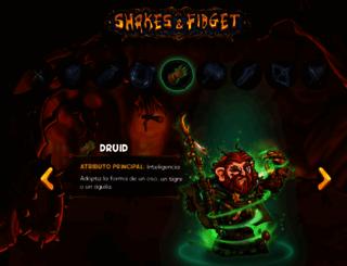 sfgame.cl screenshot
