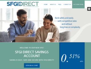 sfgidirect.com screenshot