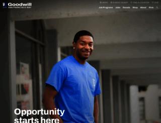 sfgoodwill.org screenshot