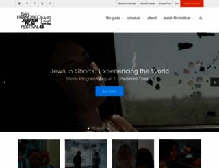 sfjff.org screenshot