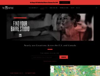 sfmarina.barmethod.com screenshot