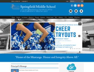 sfms.fortmillschools.org screenshot