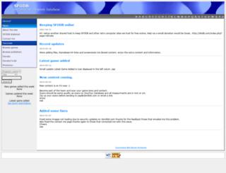 sfodb.com screenshot