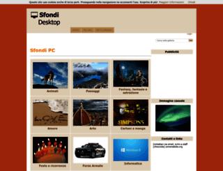 sfondidesktopgratis.net screenshot
