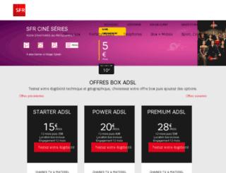 sfr.degrouptest.com screenshot