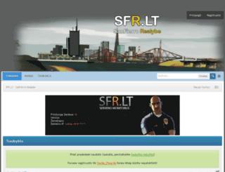 sfr.lt screenshot