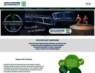 sfrancisco.com.br screenshot