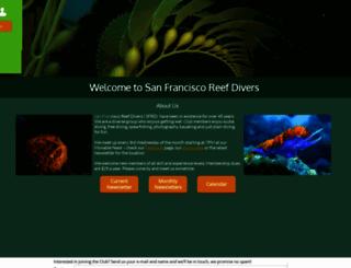 sfreefdivers.org screenshot