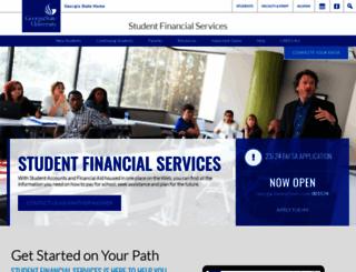 sfs.gsu.edu screenshot