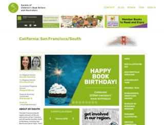 sfsouth.scbwi.org screenshot