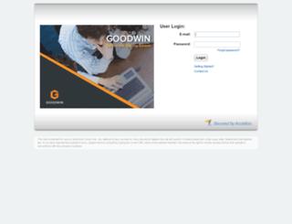 sft.goodwinprocter.com screenshot