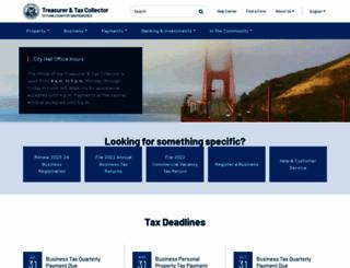 sftreasurer.org screenshot