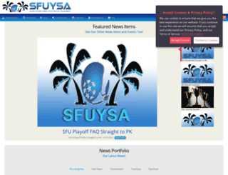 sfuysa.com screenshot
