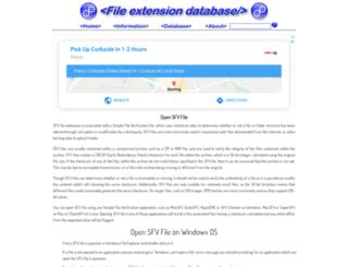 sfv.extensionfile.net screenshot