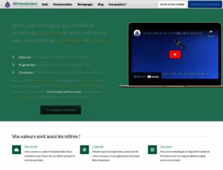 sg-autorepondeur.com screenshot