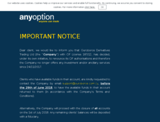 sg.anyoption.com screenshot