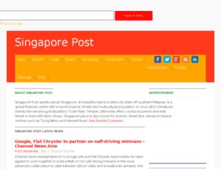 sg.online-listing.com screenshot