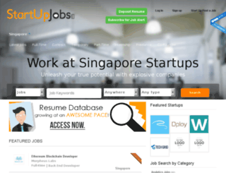 sg.startupjobs.asia screenshot