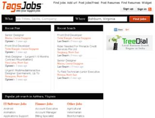sg.tagsjobs.com screenshot