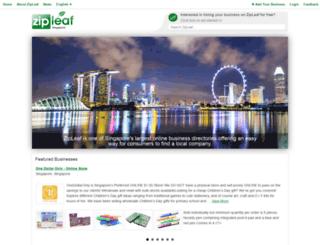 sg.zipleaf.com screenshot