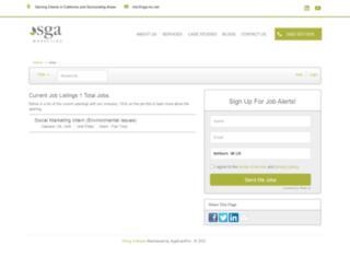 sga.applicantpro.com screenshot