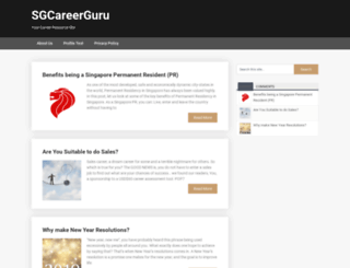 sgcareerguru.com screenshot