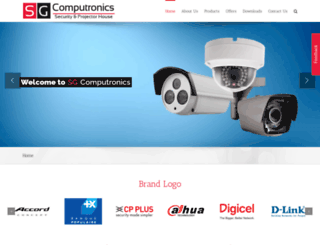 sgcomputronics.com screenshot