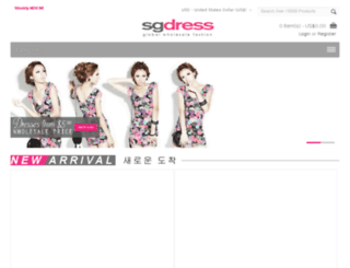 sgdress.com screenshot