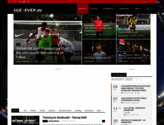 sge4ever.de screenshot