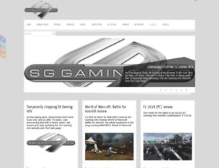 sggaminginfo.com screenshot