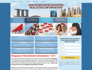 sghomeinvestors.com screenshot