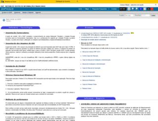 sgif.datasus.gov.br screenshot