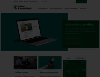 sgkb.ch screenshot