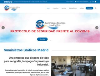 sgmadrid.com screenshot