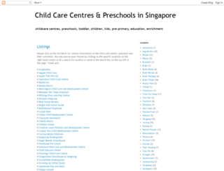 sgpreschools.blogspot.sg screenshot