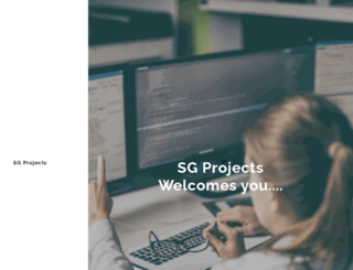 sgprojects.in screenshot