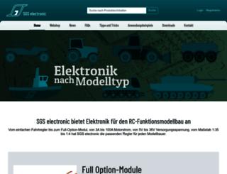 sgs-electronic.com screenshot