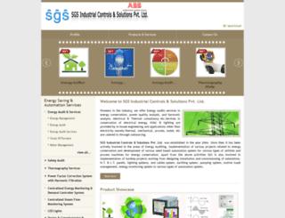 sgscontrols.com screenshot