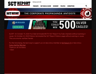 sgtreport.com screenshot