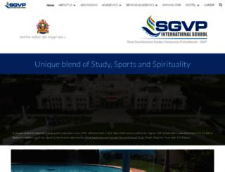 sgvp.org screenshot