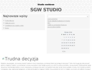 sgw-studio.pl screenshot